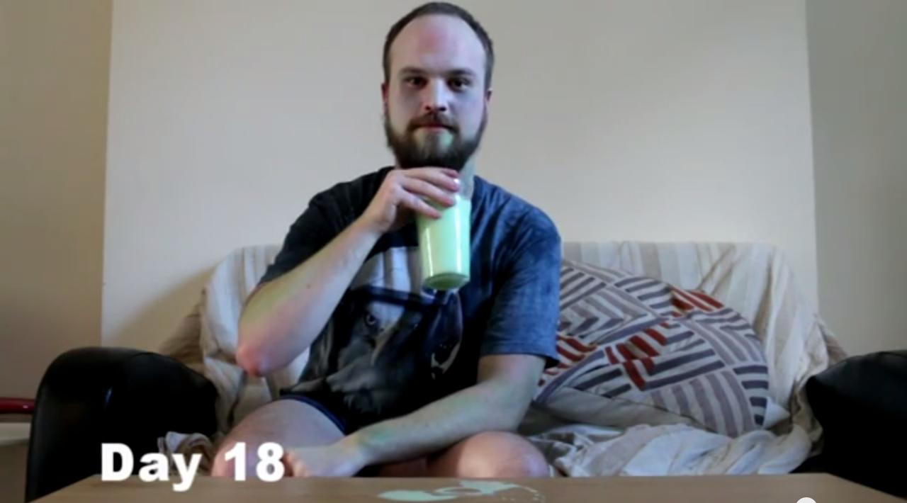 Green Milk Challenge Day 18
