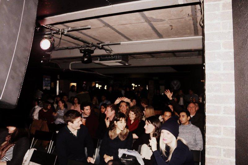 London Liverpool Street Comedy Gig Crowd
