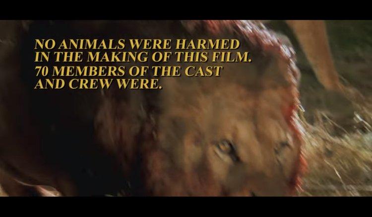 Roar Film Trailer STill