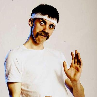 Mat Ewins Comedian Green Milk